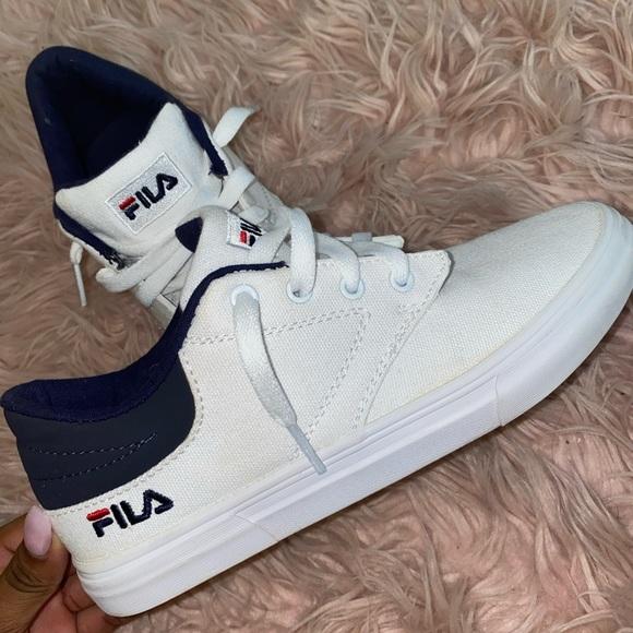 Fila Shoes | Fila Canvas Shoes White